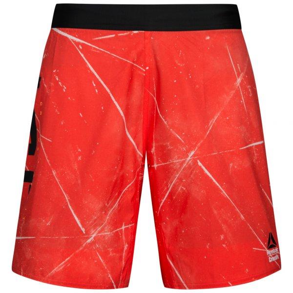 Herren Reebok  CrossFit Super Nasty Speed Herren Trainings Shorts BK1090 rot | 04057291073929