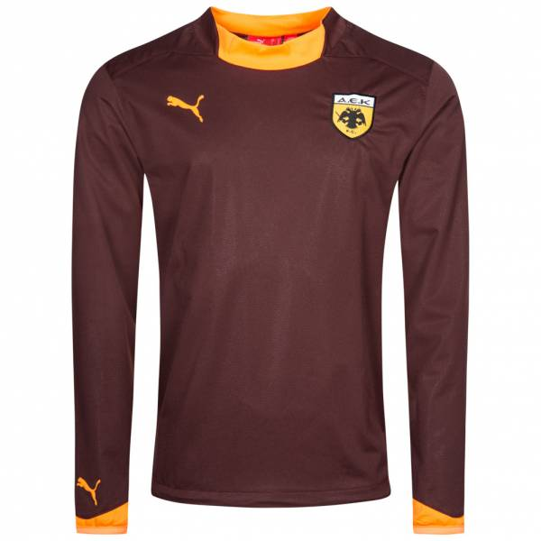 AEK Athen PUMA V1.08 All Weather Herren Trainings Sweatshirt 651136-09