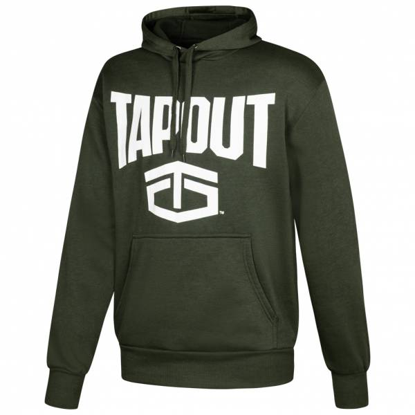 Tapout Classic Kapuzen Sweatshirt Hoody Army Grün