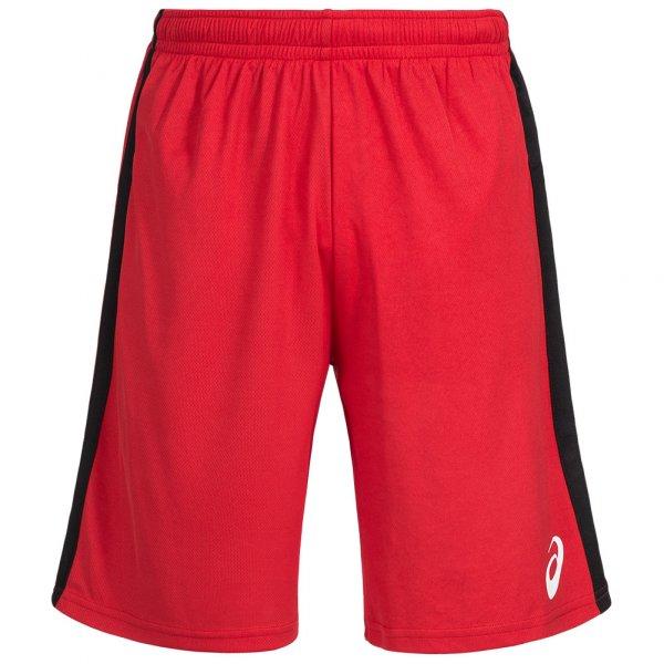 Herren ASICS  Herren Sport Shorts 121702-0600 rot | 08717999791469