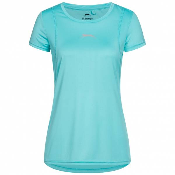 Slazenger Joyner Crewneck Donna T-shirt sportiva S047746A1-AQU