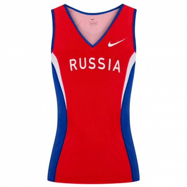 Nike Russland Damen Leichathletik Singlet Shirt 713400-601