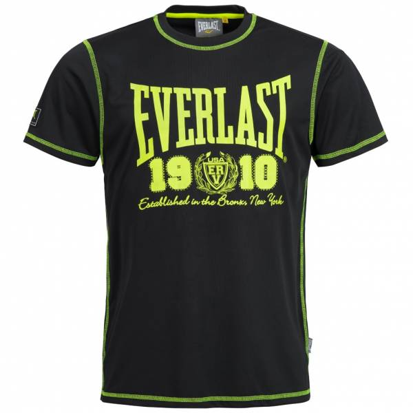 Everlast Big Logo T-Shirt black/yellow EVR8850