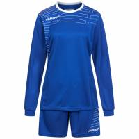 Uhlsport Match Damen Fußball Set Langarm Trikot mit Shorts 100316906
