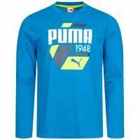 PUMA Fun S. Casual Logo Heren Shirt met lange mouw 830021-25