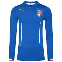 Italien PUMA Herren Langarm Heim Trikot Player Issue 744197-01