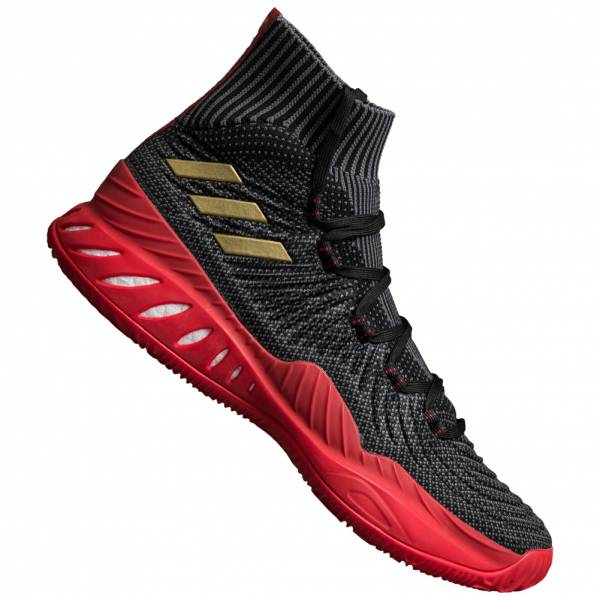 new styles 4e7f2 36668 adidas Crazy Explosive 2017 Primeknit Men s Basketball Shoes CQ1395 ...