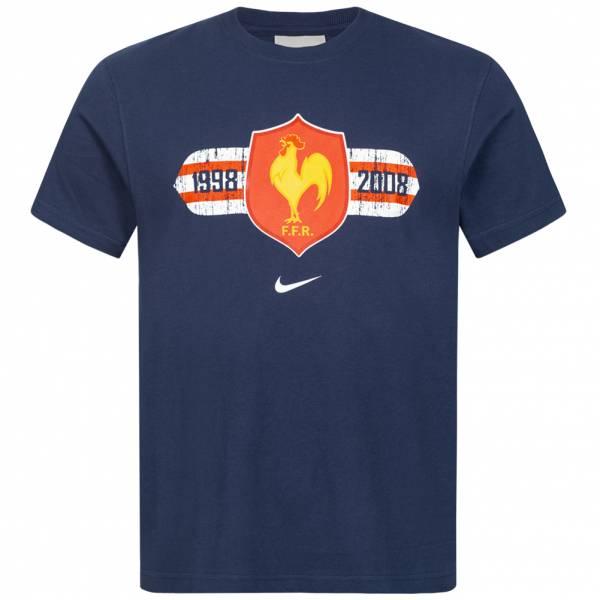 Frankreich FFR Nike Herren Rugby T-Shirt 329525-410