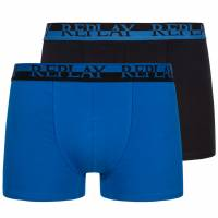 REPLAY Boxer Herren Boxershorts 2er-Pack 101141-N141