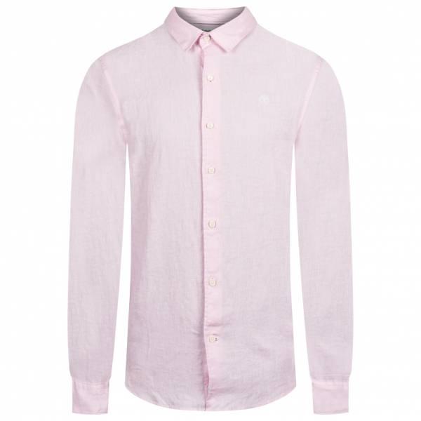 Timberland Mill River Men Linen Shirt A1NW8-X82
