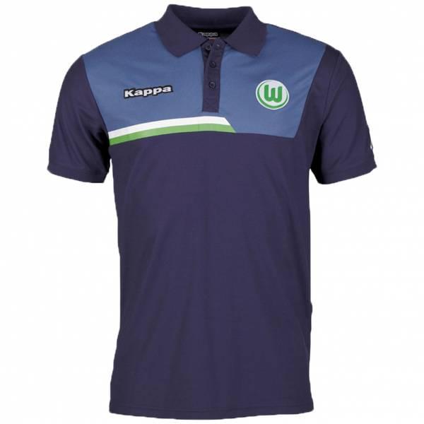 VFL Wolfsburg Kappa Herren Polo-Shirt 402336