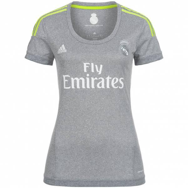 Real Madrid CF adidas Mujer Camiseta de segunda equipación S12628