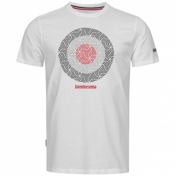 Lambretta Target Herren T-Shirt SS1310-WHT