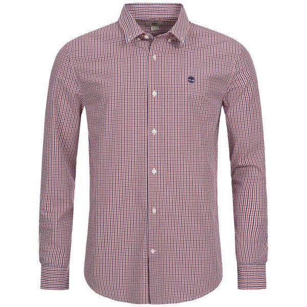 Timberland Rattle River Slim Fit Gingham Shirt Herren Hemd A1ALV-B17