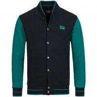 Asics Collegiate Varsity Jacket Herren Freizeit Jacke 121162-5000 Schwarz