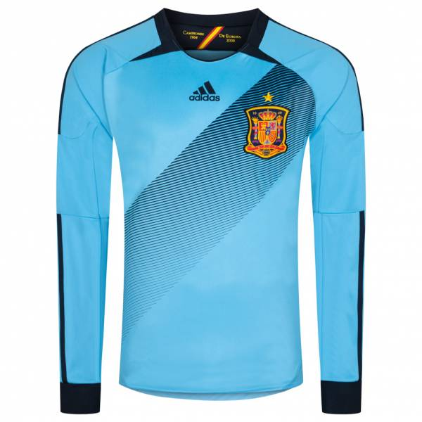Spanien adidas Herren Auswärts Langarm Trikot Spielerversion X16710
