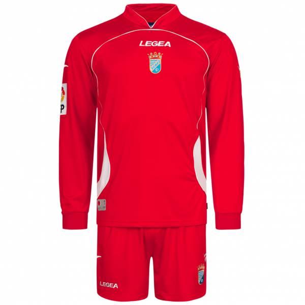 Xerez Club Deportivo Legea Trzeci zestaw piłkarski z koszulką z długim rękawkiem i spodenkami