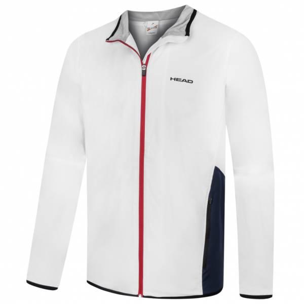 HEAD Club Herren Tennis Trainingsjacke 811707-WH