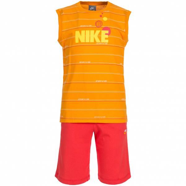 Nike Kinder Freizeit Set Shirt + Shorts 2-teilig 273411-800