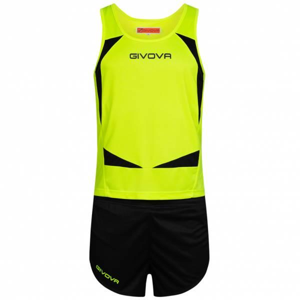 Givova Kit Sparta Leichtathletik Set Singlet + Short KITA05-3410
