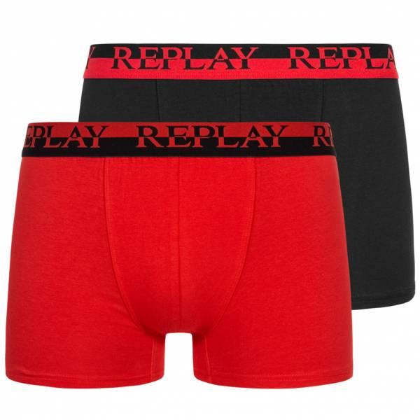 REPLAY Boxer Hommes Boxer-shorts Lot de 2 101141-N140