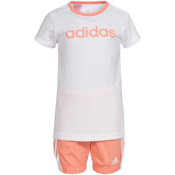 adidas Summer Graphic Kleinkinder Set Shirt + Shorts 2 teilig AK2611