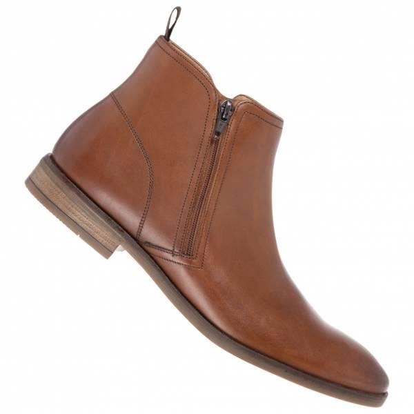 Clarks Stanford Zip Herren Chelsea Leder Boots 261475687
