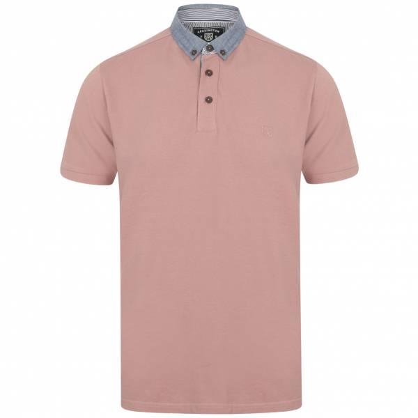 Kensington Union Herren Polo-Shirt 1X12569 Deauville Mauve