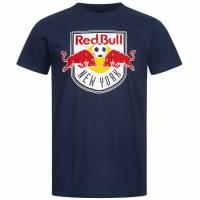 New York Red Bulls Fanatics MLS Logo Hombre Camiseta 1600MNVY1ADNRB