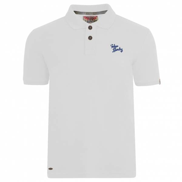Tokyo Laundry Florenzi Herren Polo-Shirt 1X8910AR Optic White