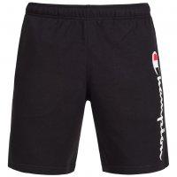 Champion Herren Logo Sweat Shorts schwarz
