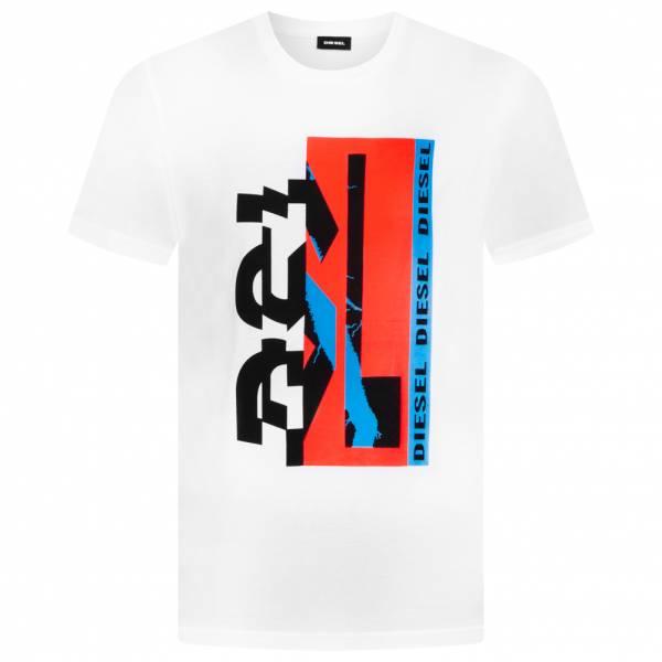Diesel T-Diego YA Uomo T-shirt 00SNSW 0PATI-100