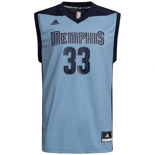 Memphis Grizzlies adidas NBA Basketball Trikot #33 Gasol H82082