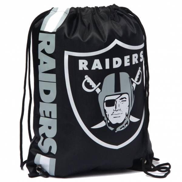 Oakland Raiders NFL Drawstring Backpack Gym Bag LGNFLCLGYMOR