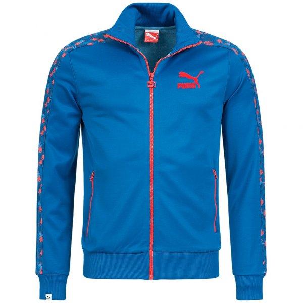 PUMA Floral Herren Trainingsjacke Track Top Jacket 567598-01