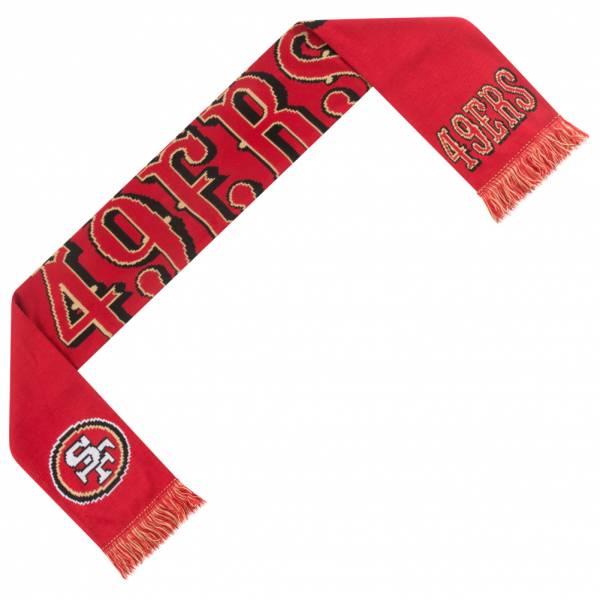 San Francisco 49ers NFL Scarf Wordmark Fan Scarf SVNF14WMSF