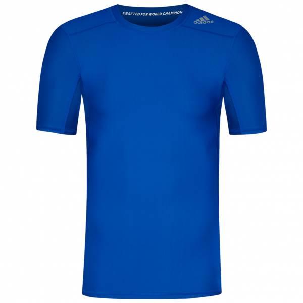 adidas Techfit Chill Herren Kompressions Shirt S95734