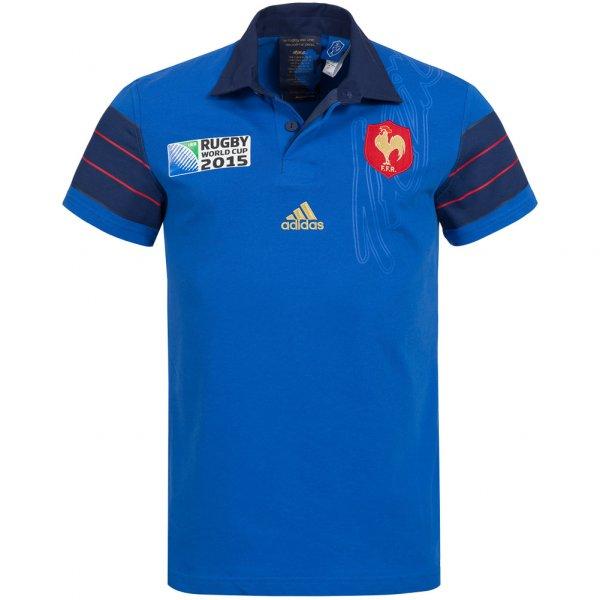 Frankreich adidas Rugby World Cup Heim Trikot FFR A95803