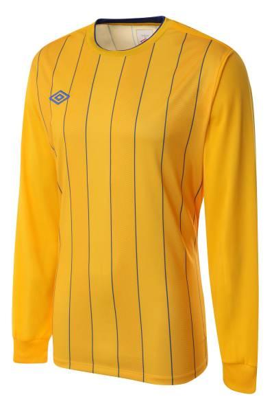 Umbro Continental Jersey Fußball Trikot gelb/royal