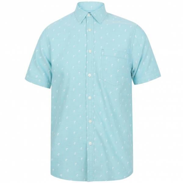 Koszula męska Tokyo Laundry Stretton 1H12662 Miętowy Oxford