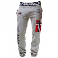Geographical Norway Herren Jogginghose Myer Blended Grey