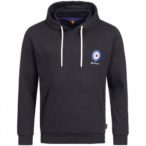 BEN SHERMAN Herren Hooded Kapuzen Sweatshirt 0058684P-290 Black