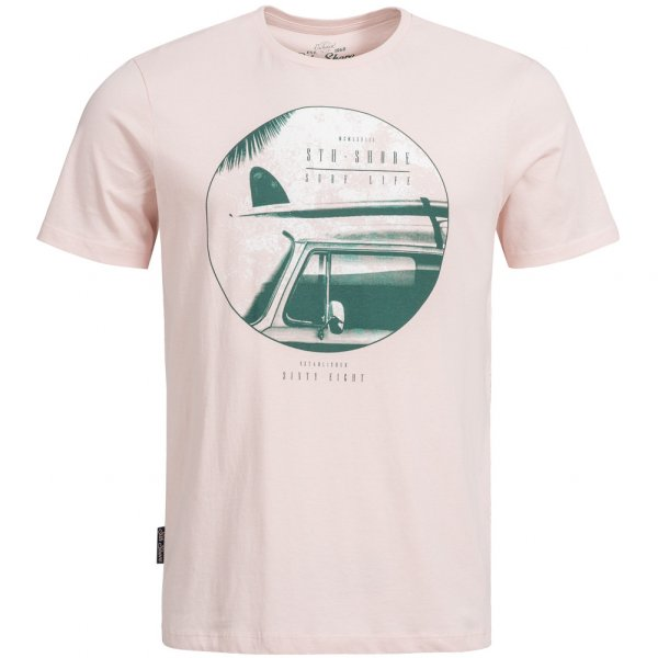 Sth. Shore Surf Car Herren T-Shirt 1C9944 Lotus Pink