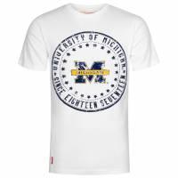 Michigan Wolverines American Freshman Herren T-Shirt APE01091-WHITE