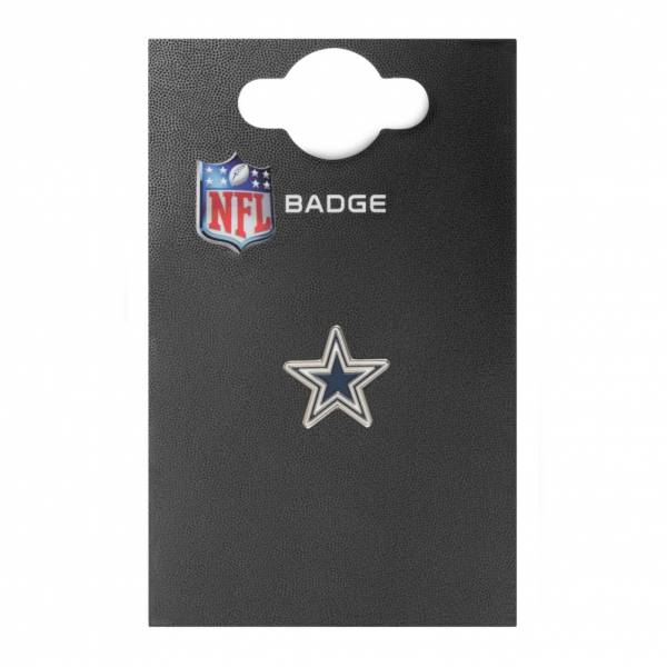 Dallas Cowboys NFL Metall Wappen Pin Anstecker BDNFCRDC