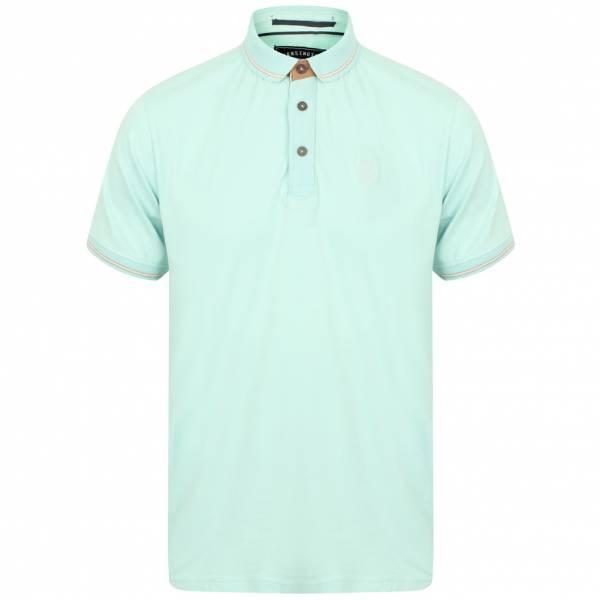 Kensington Eastside Prospect Cotton Herren Polo-Shirt 1X11176 Turquoise