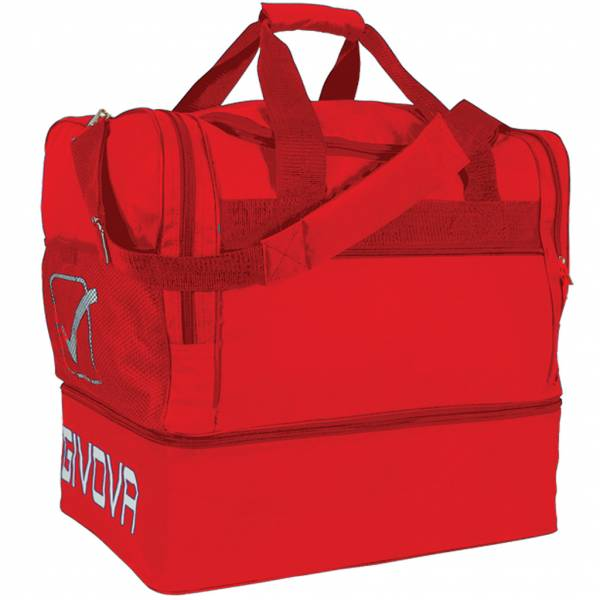 Sac de football Givova Borsa rouge