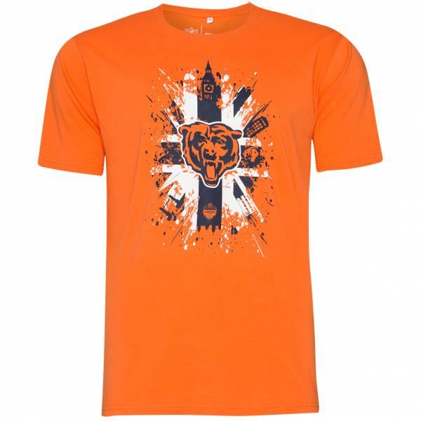 Chicago Bears Fanatics London Games Herren T-Shirt 1878MORGIGSCBE