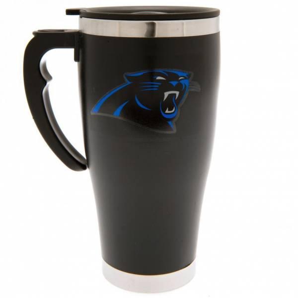 Carolina Panthers NFL Taza de viaje con estampado de aluminio Taza térmica MGNFLTRAVCP