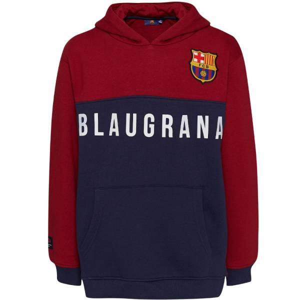 FC Barcelona Blaugrana Hoodie Kinder Kapuzen Sweatshirt FCB-3-389